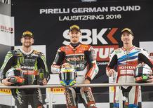 SBK. Chaz Davies vince Gara 1 in Germania