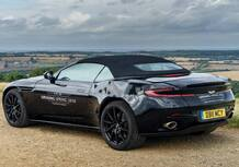 Aston Martin DB11 Volante: in arrivo la cabrio nel 2018