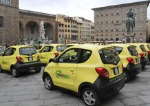 Share'ngo: a Roma da ottobre 400 auto elettriche