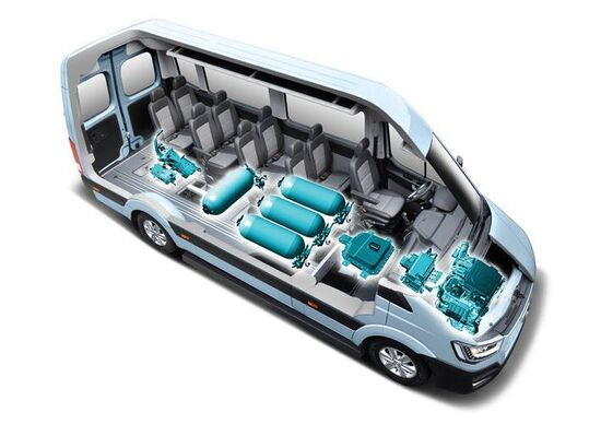 Hyundai H350 fuel cell: commerciale elettrico rivoluzionario