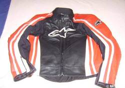GIUBBOTTO IN PELLE Alpinestars APEX
