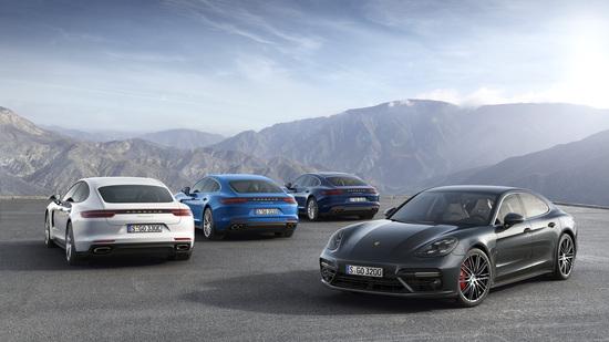 Gamma colori classica per Porsche nuova Panamera ibrida