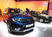 Dacia al Salone di Parigi 2016