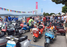 Successo per i Vespa World days 2015 a Biograd
