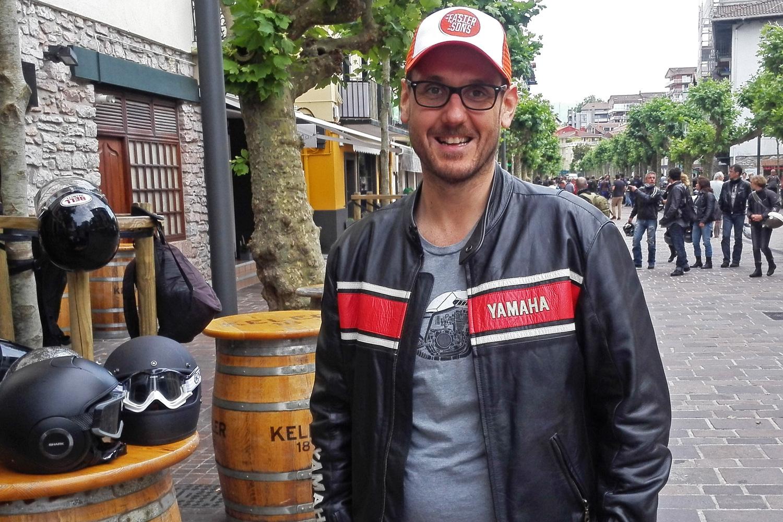 "Paolo Pavesio (Yamaha): ""I ragazzi amano le moto classiche"""