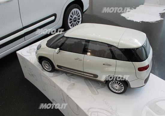 Fiat 500L: dal 2013 anche 500 XL Extralarge e con tante novità