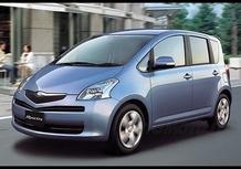 Toyota nuova Yaris Verso?