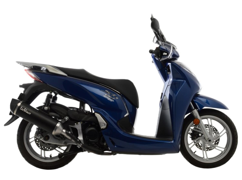 Scarico LeoVince Nero per Honda SH 300i