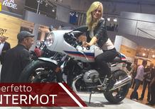 BMW R nineT Racer a Intermot 2016: il video