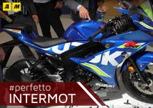 Suzuki GSX-R 125 2017 a Intermot 2016. Il video