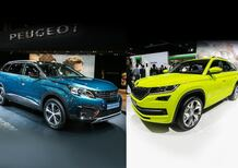 Peugeot 5008 vs Skoda Kodiaq: il confronto al Salone di Parigi [Video]