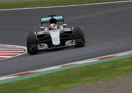 F1, Gp Giappone 2016: Rosberg e Hamilton separati da un battito di ciglia