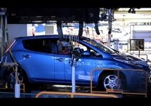 Nissan Leaf: iniziata la produzione ad Oppama