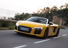 Audi R8 Spyder [Video primo test]