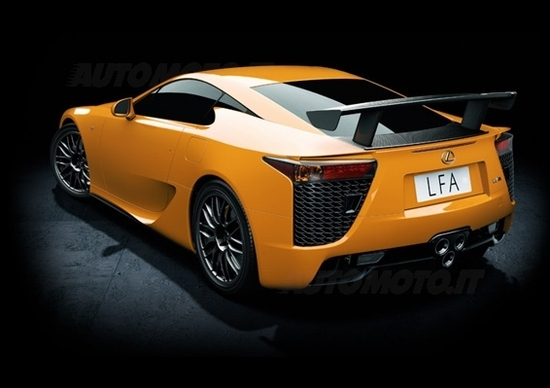 Lexus LFA - Pacchetto Nurburgring