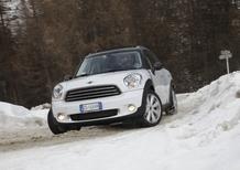 Su ghiaccio e neve con la Mini Countryman All4