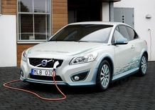 Volvo C30 Electric: allo studio la ricarica wireless