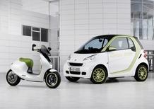 smart: nel 2012 l'e-bike e nel 2014 la 4 posti