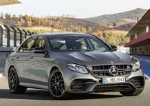 Nuova Mercedes E 63 AMG: ora solo a trazione integrale