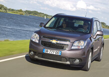Chevrolet Orlando 2012: in arrivo la duplice alimentazione