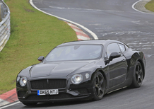 Nuove Bentley Continental GT e GTC: i muletti al Ring