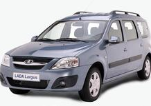 Lada Largus: la Dacia Logan russa