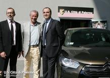 Citroen fornitrice ufficiale Palermo Calcio