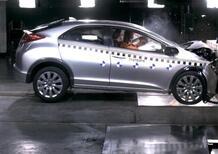Nuova Honda Civic: pensata per la sicurezza