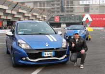 Michele Pirro su Renault Gordini al Motor Show