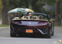Honda NSX: la concept di Detroit anticipata da The Avengers