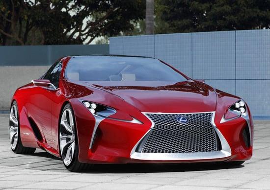 Lexus LF-LC Concept: svelata a Detroit