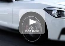 BMW Serie 1 M Performance: primo video teaser