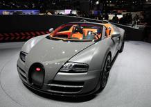 Bugatti al Salone di Ginevra 2012