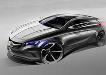 Mercedes-Benz Classe A: primo rendering digitale