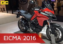 Ducati Multistrada 950 ad EICMA 2016: il video
