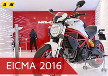 Ducati Monster 797 ad EICMA 2016: il video