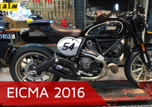 Ducati Scrambler ad EICMA 2016: il video