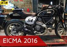 Ducati Scrambler ad EICMA 2016: il video