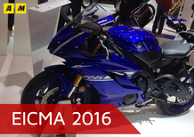 Yamaha YZF-R6 2017 ad Eicma 2016: video
