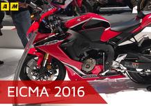 Honda CBR1000RR Fireblade 2017 a EICMA 2016: video