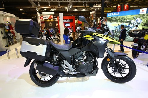 Suzuki V-Strom 250 2017 ad Eicma 2016: foto e dati (4)