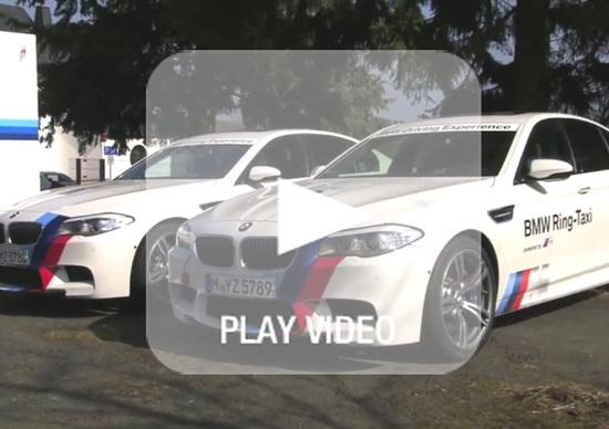 BMW M5 F10: sarà la nuova 'Ring Taxi