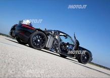 Porsche 918 Spyder: sorpreso il prototipo a Nardò