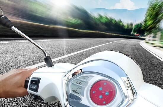 Rivoluzione per i cruscotti scooter ora condivisi allo Smarphone