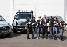 Le dipendenti Daimler per la terza volta al rally Aïcha des Gazelles