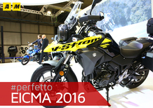 Suzuki V-Strom 250 2017 ad EICMA 2016: video