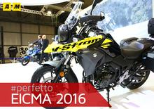 Suzuki V-Strom 250 2017 ad EICMA 2016: video