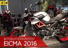 Aprilia Shiver 900 2017 ad EICMA 2016: video