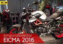 Aprilia Shiver 900 2017 ad EICMA 2016: video