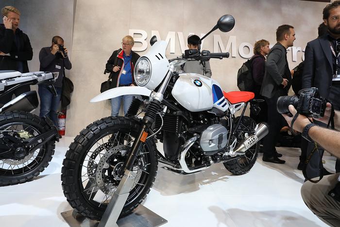 la più enduro della serie nineT, un omaggio alle origini della BMW G/S, ad EICMA 2016